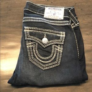 Double stich true religion jeans 27